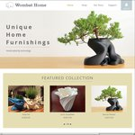 20% off All Home Furnishing Items from Wombat Home, $3 Shipping