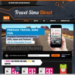 Travel SIMS for Japan ($29), USA ($25) & International Roaming ($24) - Up To 75% Off RRP & Free Shipping @ Travel Sims Direct