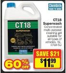 Chemtech CT18 Superwash (Truck Wash) 5L $11.99 EA (Save $21 / 60%) @ Repco