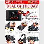 SanDisk Ultra II 240GB SSD + Free 64GB SanDisk Ultra Micro SD Card $125 @ MSY
