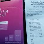 Telstra $30 Starter Kit for $5 @ Woolworths