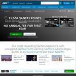 ANZ FF Black Credit Card 75,000 Qantas Points ($2,500 Spend 3mths) + No Annual Fee First Year