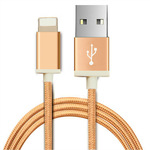 KALUOS Lightning to USB Cable MFI 1m, 1.5m / Black, Gold, Silver (AU $2.66) Shipped @ AliExpress