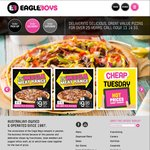 2x Traditional Pizzas - $17.95 Pick Up @ Eagle Boys