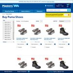 Puma Safety Shoes 50% off at Masters - Online and In Store