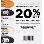 20% off at Platypus (Online & in-Store)