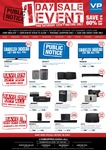 Videopro 1 Day Sale - 12th November 2016 - Instore Only