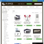 5% off The Whole Range at JPOfficeWorkstations & Free Shipping on Selected Products - Oz Wide Delivery - [OzBargain10]