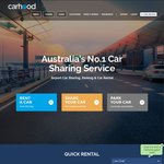 Free Melbourne/Sydney/Brisbane Airport Parking 24/7 + Free Car Wash + 10% Bonus Earnings on Vehicle When Rented out @ Carhood
