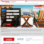 CheapTickets 16% off Hotel Bookings - Prices in $US