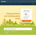 $10 / Year .COM.AU Domain Names, 90% off Multi Web Hosting (from $1.00/Month for up to 1 Year) @ Zuver