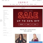 Esprit Season End Sale - up to 50% OFF Sale Items - Free Shipping on Orders over $50