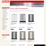 Miele Dishwasher G6300 $1499 (Reduced from $2199) @ Miele Shop