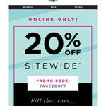 20% off Sitewide + Free Shipping at Hairhouse Warehouse [Membership Req'd]