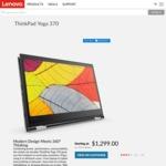 """ThinkPad Yoga 370 i5-7200U / 13.3"""" FHD / 8GB SODIMM / 128GB M.2 $1299 ($1049 with AMEX) @Lenovo"""
