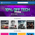 OzGameShop 10% off Tech