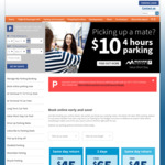 Melbourne Airport Parking 20% off - 24hrs Only | All Terminals & Premium Car Parks