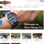 40% off Everything @ Nato Strap Co. from US $5.99 AU $7.91 Free Delivery