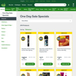Woolworths Online Black Friday Sale - Over 100 Items on 50% Discount (eg. Moccona Coffee $12/400g, Sorbent TP 10pk: 3 for $10)