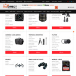 digiDIRECT Cyber Monday Sale 15% off + Fujifilm Cash Back + Free Shipping