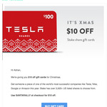 $10 AUD off Company Share Gift Cards off (~ $16 AUD) $12 USD + $6 USD Flat Fee + Other Fees @ Stake