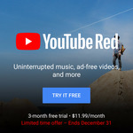 YouTube Red 3 Month Trial (New & Some Existing Users)