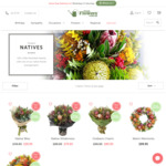 Free Lindt Chocolates Plus $10 OFF on Fresh Flowers Native Range from $39.95