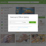 Groupon 10% off Appwide (Unlimited Redemptions)