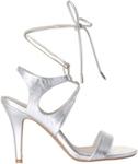 SACHI Glisten Silver Sandal | Glisten Nude Sandal $15 each (Was $70) @ Myer