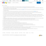 20% off Sitewide for New eBay Users (Max Discount $50)