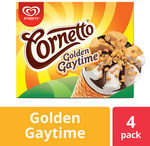 Cornetto Golden Gaytime Toffee and Vanilla 4 Pack $3.50 (Was $7.70) @ Coles