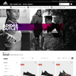 adidas Frenzy: Extra 20% off Everything @ adidas Outlet (Prices from $11, Free Returns, Free Shipping over $100)