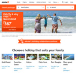 Kids Fly Free to Queensland Holiday Packages @ Jetstar