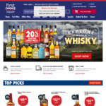 10% off $100+ Wine Orders @ First Choice Liquor Online