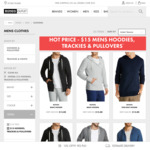 [Bonds, Jockey, Champion] Men Hoodies, Trackies & Pullovers $15 | Womens Crops $6 & More ($9 or Free Shipping over $49) @ Bonds