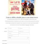 Win 1 of 10 DPs to Ideal Home Worth $40 from Seven Network