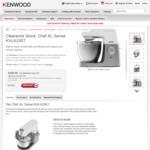 Kenwood Chef XL Sense KVL6100T Stand Mixer $399 (RRP $799) Delivered @ Kenwood World