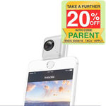 Insta360 Nano Panoramic Dual Lens Camera 360 VR for iPhone X/6S Plus/6S/7+/8/8+ - AU $71.20 Posted @ KG Electronic eBay
