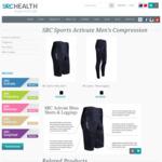 70% off Mens SRC Compression Shorts $56, Leggings $59 + Delivery @ SRC Health