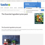 Win a 'The Essential Ingredient' Prize Pack Worth $172.45 from News Life Media