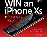 Win an iPhone XS & Accessories Worth $1,898.65 from 3SIXT