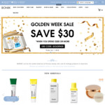 $30 off (Min $200 Spend) + Free Delivery @ BONIIK Online Only