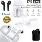 i7S TWS Wireless Bluetooth Stereo Mini Headphones $13.49 Delivered @ HMS Global eBay