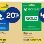 [PS4, XB1] 12 Mth PlayStation Plus $63.95 | 3 Mth Xbox Gold $17.97 | Battlefield V, Fallout 76 $69 | Fortnite Bundle $39 @ Big W