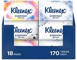 KLEENEX Everyday Facial Tissues 170 Sheets x 36 Boxes $50.49 Delivered @ Amazon AU
