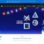 PlayStation Christmas Sale - PS4 500GB from $259, PS4 1TB + Spider-Man from $369, PS4 Pro 1TB from $469, PS4 Games from 45% off