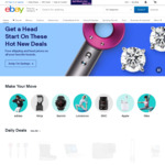 US $10 off US $30+ Spend @ eBay US