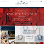 [VIC] Up to 80% off Storewide @ Brooks Brothers (DFO, Essendon)