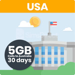 25% off - USA Travel SIM Card with 5GB Data + Unlimited Calls/Texts to Oz - $41.25 AUD + Free Shipping @ SimsDirect Sydney