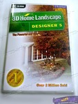 3D HOME LANDSCAPE 5, CAD home design & gardening software for Windows PC, $27 with free shipping